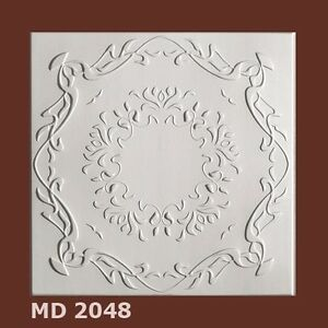 Deckenplatten Styroporplatten Decorplatten 1m²   -Neu-  MD 2048