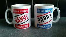 PERSONALISED HIS/HER MUG. THIS MUG BELONGS TO HANDS OFF PERFECT GIFT COUPLE 109