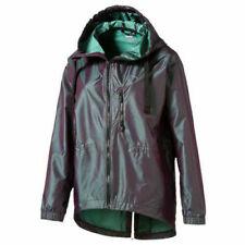 Puma Explosive DryCell Womens Running Jacket Purple Green UK 12 (U2)