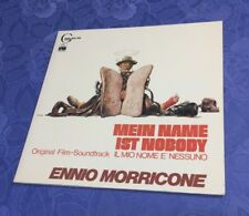 ENNIO MORRICONE (LP) NOBODY /OST SOUNDTRACK [ARIOLA RECORDS *GERMAN ED1] EX