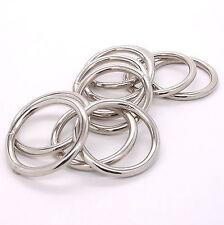 "Ring Smooth Nickel 10 Pack 1-1/2"" (3.8 cm) 1662-02"