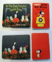 Book: It's Great Pumpkin Charlie Brown + Snoopy Red Baron 1st Charles Schulz