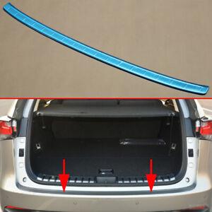 Steel Tailgate Rear Bumper Lid Cover Trim For Lexus NX200t NX300h 2015-18 Parts
