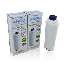 2x Wasserfilter ersetzen DeLonghi DLS C002 / SER 3017 Kaffeevollautomat Patrone