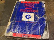 1993 JEEP Grand Cherokee Service Manual