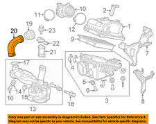 HONDA OEM Air Cleaner Intake-Inlet Duct Hose Tube 17252R9AA00