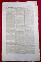 Château la Valliere en 1792 Indre et Loire Arbre de la liberté Émigrés Gazette