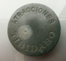 ANTIGUA FICHA ATRACCIONES TIBIDABO HIERRO