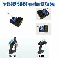 Flysky-Empfänger FS-BS6 6CH Receiver für FS-GT5 FS-IT4S-Sender DIY Auto Boot Neu