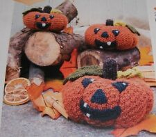 Pumpkin Patch 'Halloween' Knitting Pattern  ~ 3 sizes ~ Small/ Med/Large