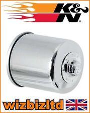 K&N Chrome Oil Filter Yamaha XVZ1300 ROYAL STAR VENTURE 1999-2010 KN303C
