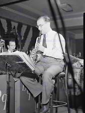 VINTAGE Photo Music Clarinetto JAZZ Benny Goodman Usa poster art print bb12328b