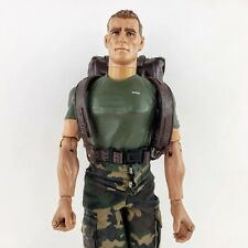 """1996 GI Joe Grunt 12"""" Figurine With Backpack, Canteen, & Boots. Taken Care Of!"""