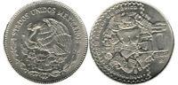 AU++ Mexico 50 Pesos - COYOLXAUHQUI Greater Temple Of Mexico 1982 Commemorative