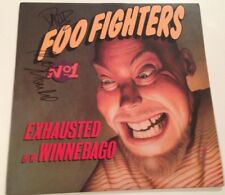 Foo Fighters Band David Grohl Signed Lp Vinyl Autograph Dave Nirvana