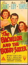 THE BACHELOR AND THE BOBBY-SOXER MOVIE POSTER Aus. DB SHIRLEY TEMPLE  CARY GRANT
