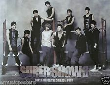 "SUPER JUNIOR ""SUPER SHOW 3"" KOREAN PROMO POSTER-Group By Scaffolding,K-Pop Music"
