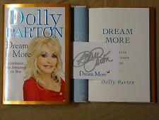 Signed Dolly Parton Dream More Celebrate The Dreamer in You Book 1/1 HC DJ RARE