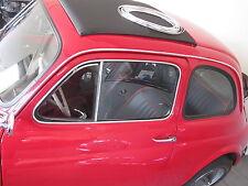 Chrom Leiste Keder für Regenrinne Dach Fiat 500  NEU