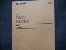 CAT Caterpillar D9G Dozer Tractor Parts Manual Book 66A