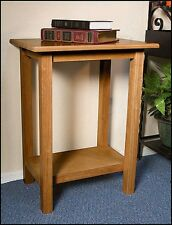 Credence Table,Pecan Finish -  Robert Smith