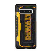 DEWALT SPEAKER Samsung Galaxy S5 S6 S7 S8 S9 S10 S10e Edge Plus Case