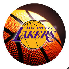 Los Angeles Lakers Basketball Round Mousepad Mouse Pad Great Gift Idea RMP2