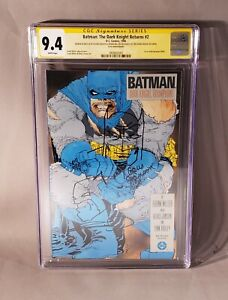 BATMAN: DARK KNIGHT RETURNS #2 CGC 9.4 SS Sketch x2 Frank Miller Klaus Janson