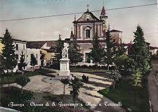 FAENZA - Chiesa di S. Francesco e Monumento a Torricelli 1954