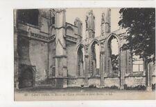 Saint Omer Ruines de l'Eglise Abatiale de Saint Bertin France Postcard 874a