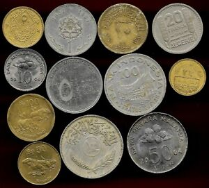 Muslem states lot of 12 coins