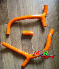 for Honda CRF450R CRF 450 R 2009-2012 silicone radiator hose orange