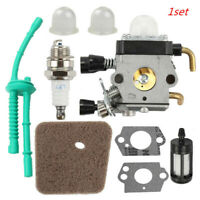 Carburetor Kit For STIHL FS38 FS55 FS45 FS46 KM55 FS85 FC55 Air Fuel filter Carb