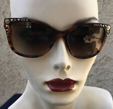 Versace Limited Edition Lady Gaga Sunglasses Brown Tortoise
