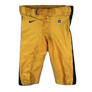 GREEN BAY Packers Nike team Game Practice  NFL Short Pants Size 50 GUC