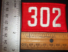 CUB BOY VENTURE RED / WHITE UNIT TROOP CREW PACK NUMBER 302 ALL IN ONE PATCH
