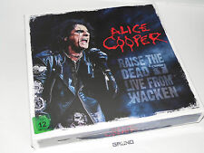 LP/CD-BOX: Alice Cooper – Raise The Dead Live From, 2014 Editi, NEU (A8/1/55.26)