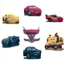 50PCS Cars Shoe Charms Shoes Accessories  fit in Shoes Kids Xmas Gifts