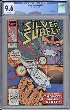Silver Surfer #v3 #34 CGC 9.6 NM+ Wp Marvel Comics 1990 Return of Thanos MCU