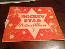 1933-34 OPC O-PEE-CHEE HOCKEY STAR PICTURE CARD ALBUM NHL