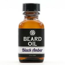 WSP Beard Oil Conditioner (Black Amber) Natural & Hand Crafted in America