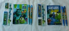 12 Monsters Inc University Scare Stationery Sets Child 3+ Party Gift Bags Filler