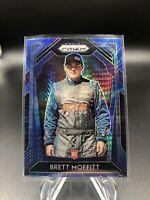 Brett Moffitt 2020 Panini Prizm Racing NASCAR RC Rookie Blue Refractor