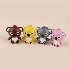 Cute Mini Koala Shape LED Key Chain with Sound Key Holder Flashlight Torch Toys