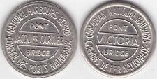 Brückenmarke Kanada National Harbours Board Passiermarke für die Jacques Cartier