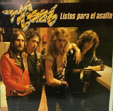 "TIGRES - LISTO PARA EL ASALTO LP 12"" PROMOTIONAL + INFO 1984 RARE EXCELLENT COND"