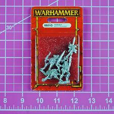 Warhammer Wood Elf Scout Command Nib Metal - Oop - Games Workshop Citadel Elves