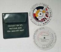 Calculator Set Nuclear M28, FSn 6665-897-8697