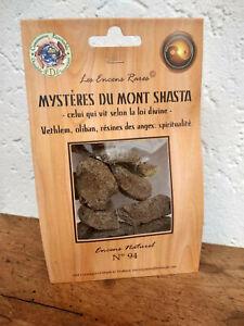 Encens rare Mont Shasta : spititualité ingrédients naturels équitable n°94
