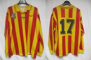 Maillot F.C MARTIGUES porté n°17 DUARIG vintage match worn shirt manches longues